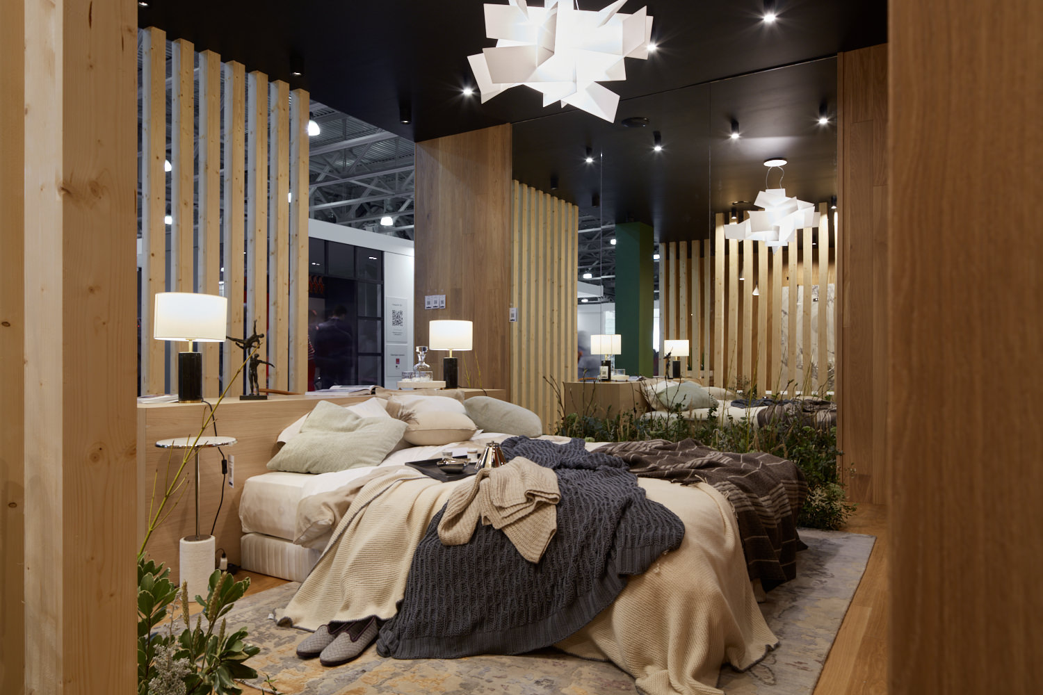 Luxury room in an eco boutique hotel «Emotions», exhibition Batimat Russia 2020